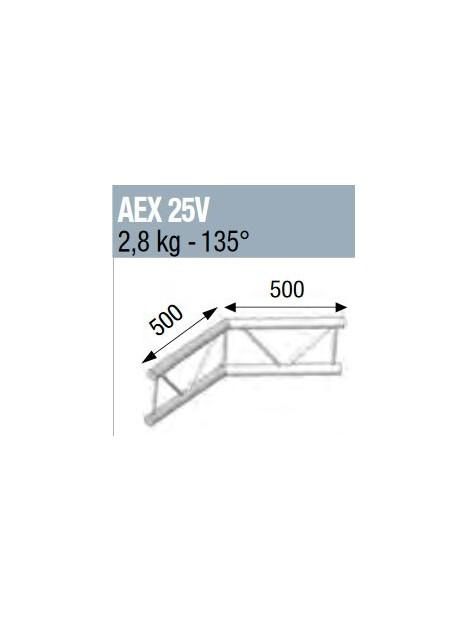 ASD - ANGLE 135° POUR ECHELLEVERTICALE 290 - AEX25V