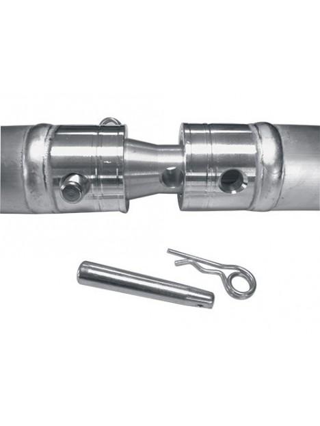 ASD - Cercle section Monotube 50 x 3 Ø 5m00 extérieur - EFX50500
