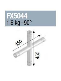 ASD - Angle 4 départs 90° pied lg 0m45 x 0m45 vertical - FX5044