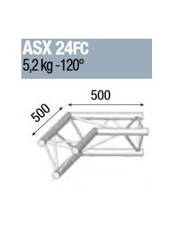 ASD - ANGLE ALU 290 2 DEPARTS 120° FORTE CHARGE - ASX24FC