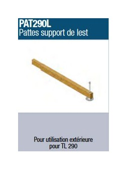 ASD - OPTION : Patte support de lest - PAT290L