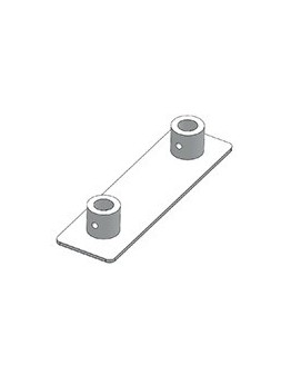 ASD - EMBASE ALU pour EX 290, 350x100 mm. - EMX290
