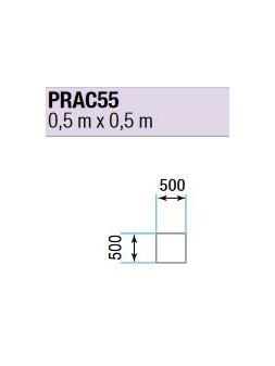 ASD - PRATICABLE CARRE 750 kg / m² de 0,5m x 0,5m. plancher extérieur - PRA-C55