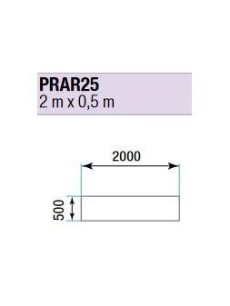 ASD - PRATICABLE RECTANGULAIRE 750 kg / m² de 2m x 0,5m. plancher extérieur - PRA-R25