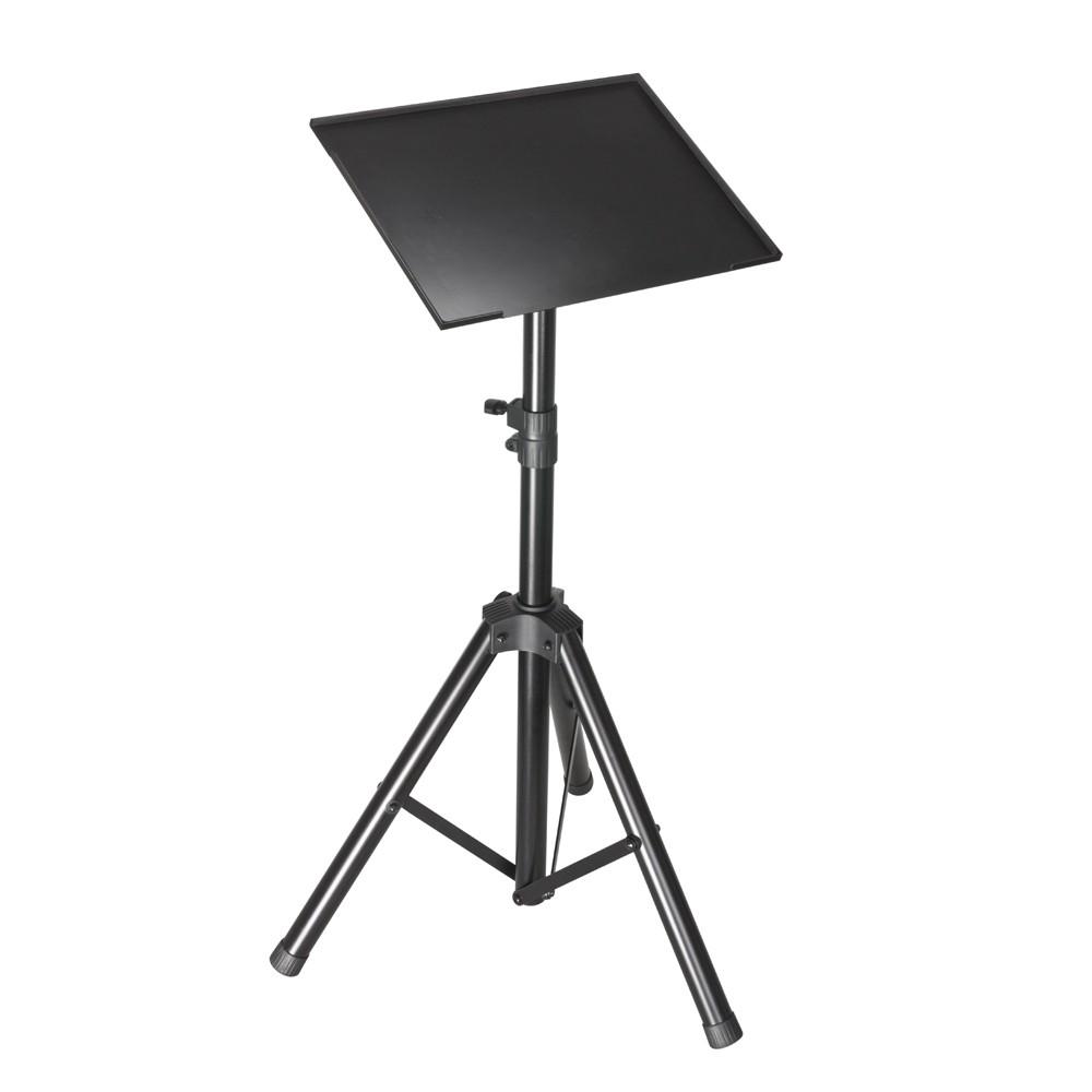 adam hall stands slt 003 support pour pc portable dj video pr. Black Bedroom Furniture Sets. Home Design Ideas