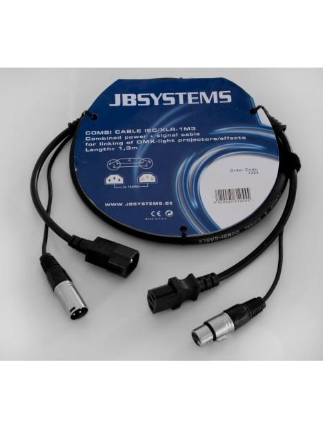 COMBI CABLE IEC/XLR-(1M3)