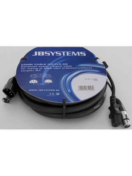 JB SYSTEMS/HILEC - COMBI CABLE IEC/XLR 3M - 01256