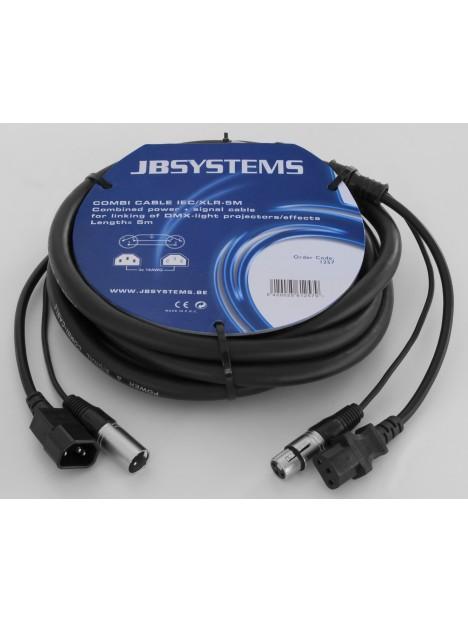 COMBI CABLE IEC/XLR-(5M)