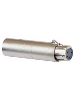 JB SYSTEMS - Adapter XLRmale 3P / XLRfem 5P - 01277