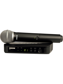 Shure - SYST HF SIMPLE MICRO MAIN PG58 - SSE BLX24E-PG58-M17
