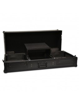 Black Case -REGIE COMBO DJ MIX12,5 pouces + 2 CDJ + LAPTOP
