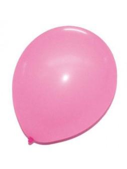 Ballons pastel Rose 12p x50