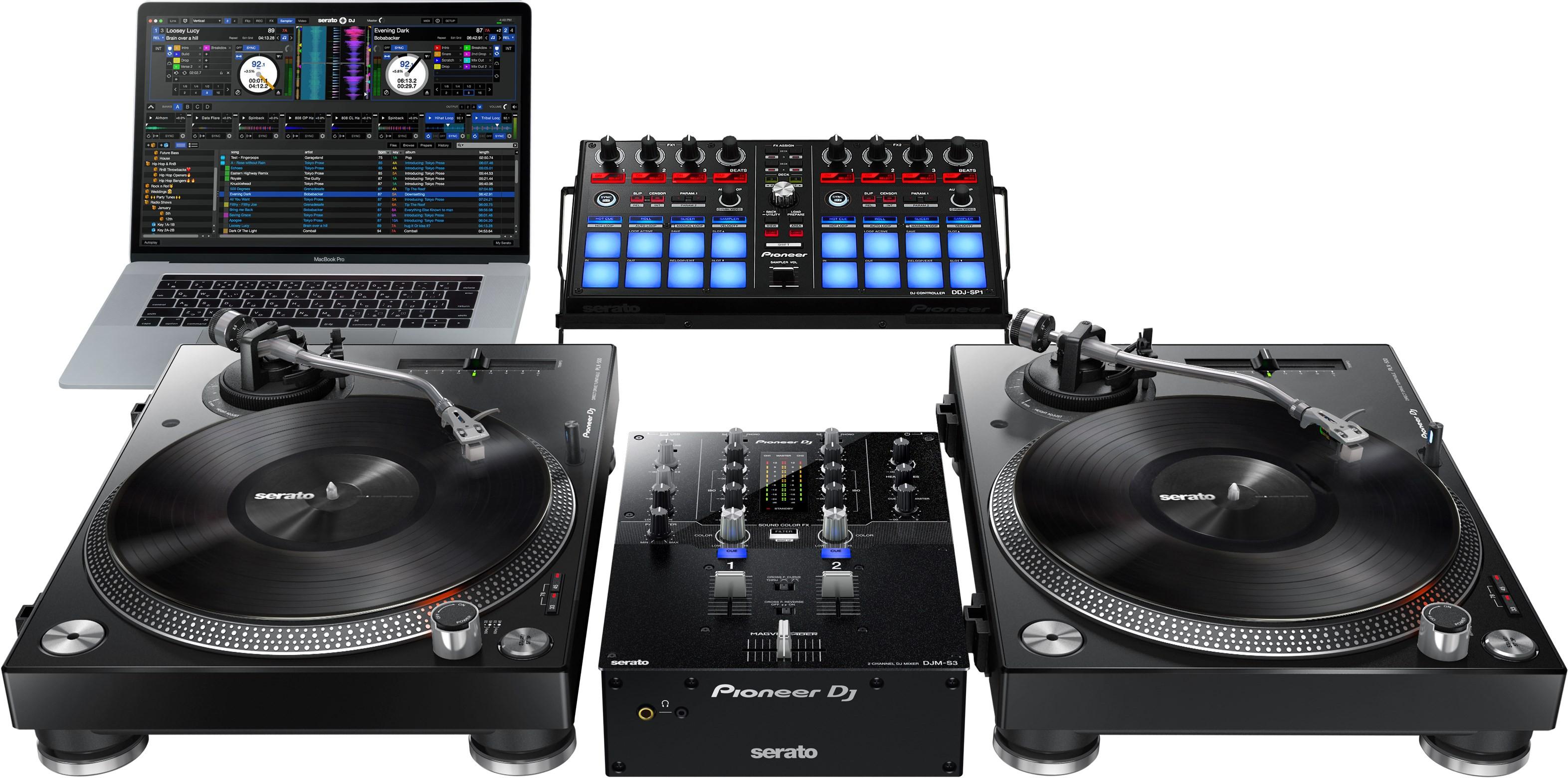 Pioneer Table De Mixage 2 Voies Pour Serato Dj Djm S3
