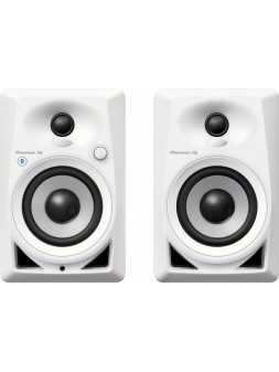 Pioneer - DM-40BT-W Enceinte de monitoring active Bluetooth blanche (la paire)
