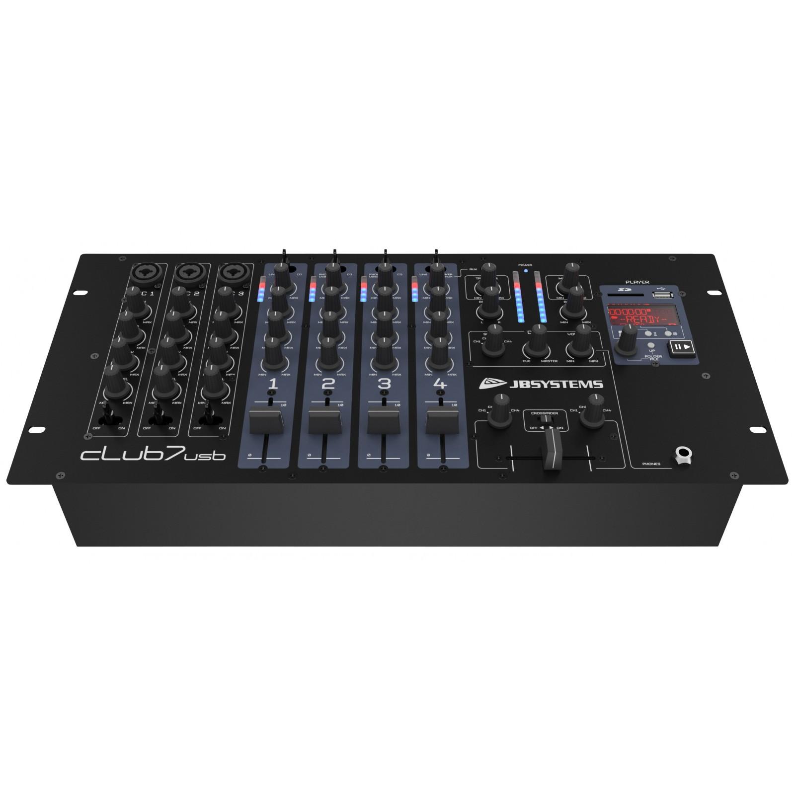 Jb systems club7 usb 00125 299 00 be 00125 - Table de mixage vinyle ...