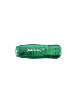 Clé USB 2.0 Intenso Rainbow Line - 8 Go Vert