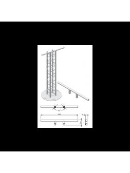 Asd HTZ Barre Totem pour structure CARRÉE 290