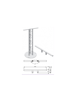 Asd HTX Barre Totem pour structure TRIANGLE 290
