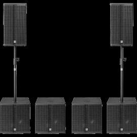Sonorisation : Pack son enceintes et caissons au meilleur prix